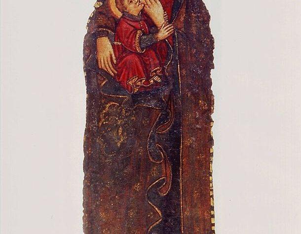 La Madonna fatta inchinare al potere temporale.